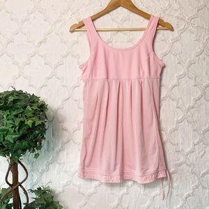Xersion Pink Babydoll Activewear Tank Top